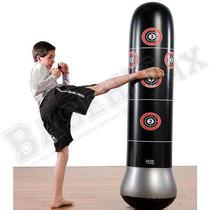 Bolsa De Boxeo Pure Boxing Mma Inflable Negro