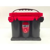 Bateria De Gel Optima Tipo 75/25 Tapa Roja Envío Gratis Df.