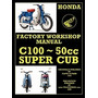 Honda Motorcycles Workshop Manual N00 Super, Floyd Clymer