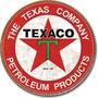 Poster Metalico Lamina Anuncio Logo Texaco The Texas Company
