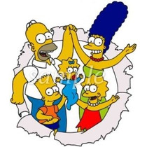 Los Simpson Imagen Comestible Cake Toppers Frosting Hoja