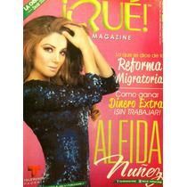 Aleida Nuñez Revista Que Magazine