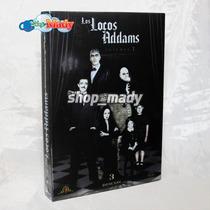 Los Locos Addams Volumen 1 -3 Dvd´s Región 1 Y 4 Esp. Mex.