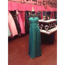 Vestido Fiesta Noche Alta Costura Bcbg Talla 2 $560 Dlls
