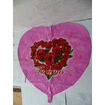 5 Globos De Corazón Gigantes Para Decoración Regalos Fiestas