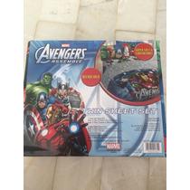Sábanas De Avengers Juego Individual Súper Suaves