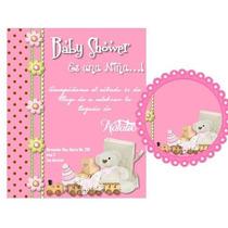 Kit Imprimible Baby Shower Invitaciones Tarjetas Nene Nena