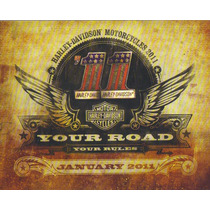 Catalogo Your Road Yopur Rules Harley- Davidson 2011.