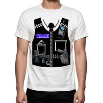 Playeras O Blusa Chaleco Policia Londres 100% Nueva