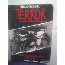 Libro Revista Biblioteca Del Terror La Ultima Llamada De Lut