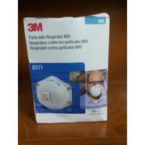 Mascarilla 3m 8511 Contra Particulas N95 Paquete Con 10 Pzas