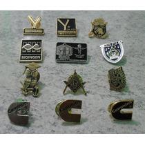 Pin Metalico Pintado 1 Tinta Fistol Personalizado, Pin-1ti Y