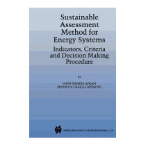 Sustainable Assessment Method For Energy Systems:, N Afgan