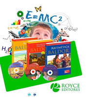 Trilogía Matemáticas Baldor 3 Libros + 3 Cd-roms