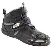 Botas Piel Con Proteccion Joe Rocket Atomic Shoe Negro