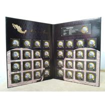 Album Coleccionador Monedas Estados Bimetalicas Ambas Fases
