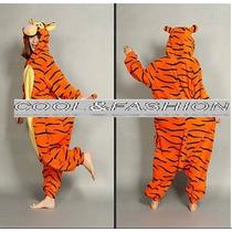 Disfraz/traje Tigger Para Adultos Varias Tallas