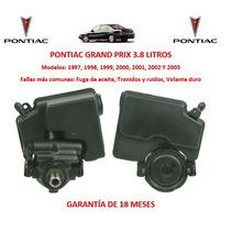 Bomba Licuadora Direccion Hidraulica Pontiac Grand Prix 2001