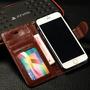 Elegante Funda Cartera Piel Apple Iphone 4s, 4g, 5s,5g  Iph5