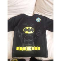 Playera Batman Dc Comics Niño Original Importada
