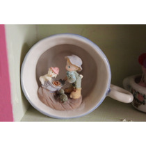 Taza Miniatura Porcelana Precious Moments