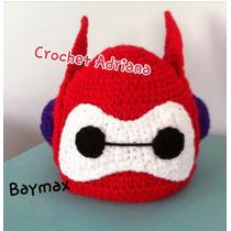 Big Hero Baymax Gorro Tejido Crochet Bebés