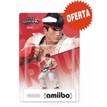 Amiibo Ryu Super Smash Bros Nuevo Sellado Nintendo Wii U/3ds