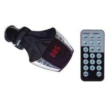 Reproductor Memorias Usb Transmisor Fm Control Remoto