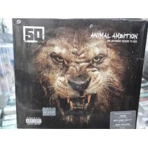 50 Cent Animal Ambition Cd + Dvd Digipak Nuevo Sellado