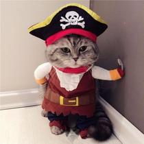 Traje Pirata Para Mascota