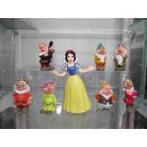 Coleccion De Figuras De Blanca Nieves Y Los Siete Enanos