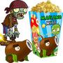 Kit Imprimible Zombies Vs Plants Candy Bar Golosinas