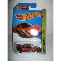 Hot Wheels Mclaren P1 Naranja 223/250 2015