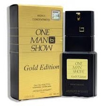 Perfume One Men Show Gold 100 Ml Caballero 100% Origina