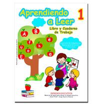Libro Aprendiendo A Leer 1 Para Primaria Y Preescolar