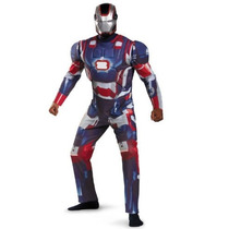 Disfraz Iron Man Patriota Avengers Talla (42-46) Hombre