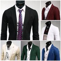 Basic Blazer Moda Japonesa Saco Slim Fit Entrega Un Dia 8col