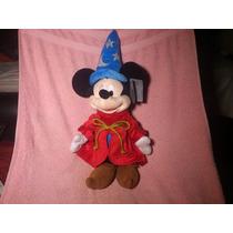 Mickey Mouse Mago Original Traido De Disneylandia Peluche