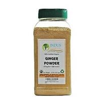 Indo Orgánica Jengibre En Polvo Especias Pack 1 Lb Jar (no S