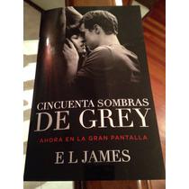Libro 50 Cincuenta Sombras De Grey, Portada De Cine
