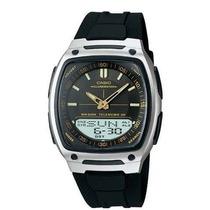 Reloj Casio Aw81 Caucho Agenda Luz Cronometro Original
