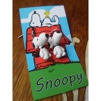 Aretes Snoopy