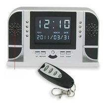 Reloj Despertador Camara Espia Vision Nocturna Sony 8gb Hwo