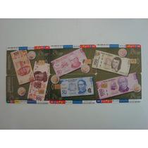 Coleccion Completa 6 Tarjetas Telefonicas Modedas Y Billetes