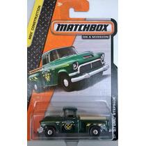 Matchbox - 57 Gmc Stepside - Caminoneta