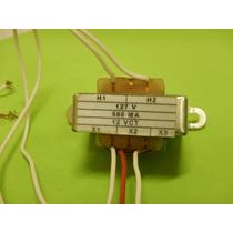 Transformador De 127v 12 Vct 500 Ma