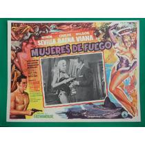 Ninon Sevilla Mujeres De Fuego Rumberas Orig Cartel De Cine