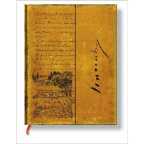Libreta Ultra Van Gogh Sketch In A Letter Rayas Paperblanks