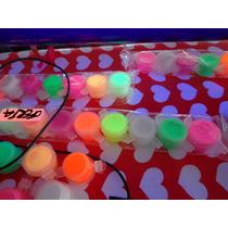 Kit Maquillaje 8 Colores ,6 Neon Y 2 Brilla En La Obscuridad