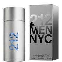 212 Men Carolina Herrera 100ml Edt - Perfume Original